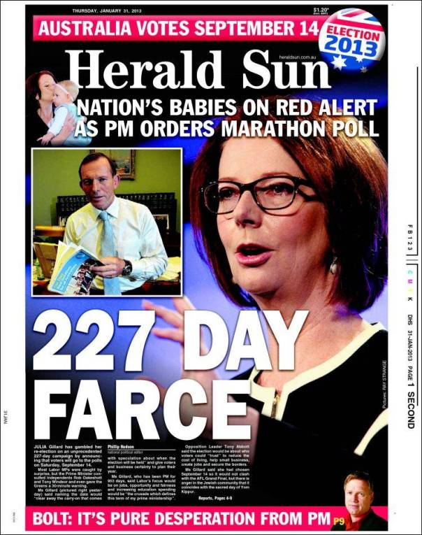 227 Days of MSM Farce