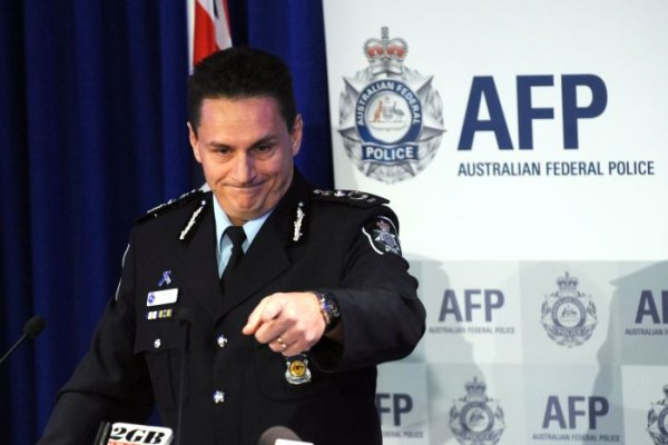 AFP Commissioner Tony Negus