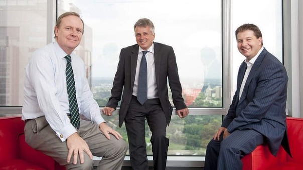 ECG Advisory Solutions, from left, Dave Gazard, Peter Costello and Jonathan Epstein