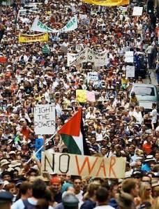 Iraq War Demonstration Sydney