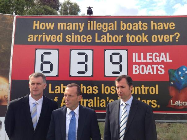 Mr Abbott & Mr Keenan - April 22 2013