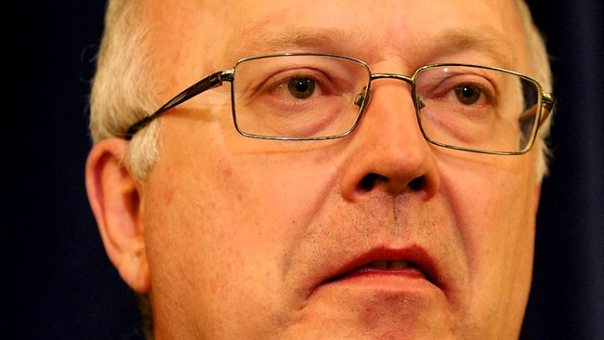 Liberal shadow attorney-general Senator George Brandis. Picture: Ray Strange Source: The Advertiser